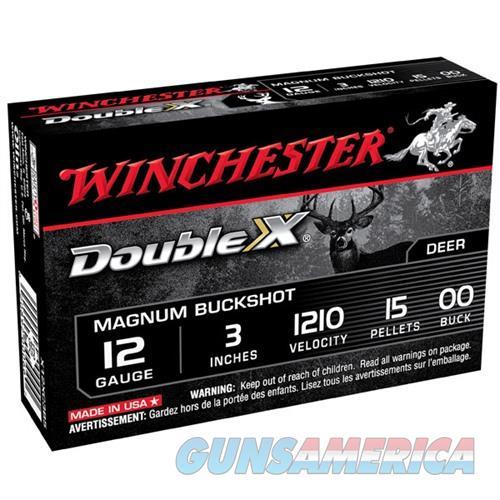 Winchester Double X Buckshot 12ga 3'' 15 Pellets #00 5/bx  Non-Guns > Ammunition