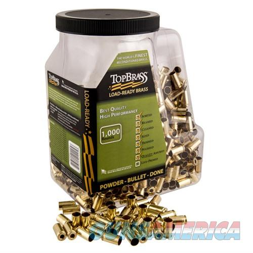 Top Brass 9mm Luger 1000Ct  Non-Guns > Reloading > Components > Brass