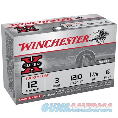 Winchester Super-X Turkey 12ga 3'' 1-7/8oz #6 10/bx  Non-Guns > Ammunition
