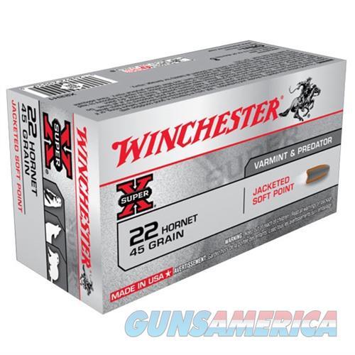 Winchester Super-X 22 Hornet 45gr JSP 50/px  Non-Guns > Ammunition