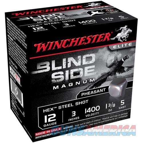 Winchester Blind Side 12ga 3'' 1-3/8oz #5 25/bx  Non-Guns > Ammunition