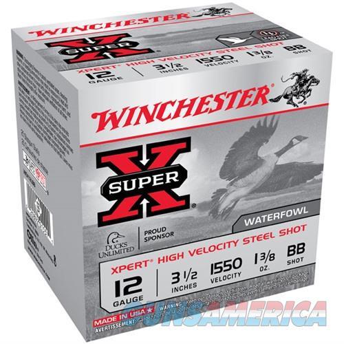 Winchester Xpert HV Steel 12ga 3.5'' 1-3/8 oz. #BB 25/bx  Non-Guns > Ammunition