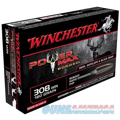 Winchester Power Max Bonded 308 Win 180gr 20/bx  Non-Guns > Ammunition