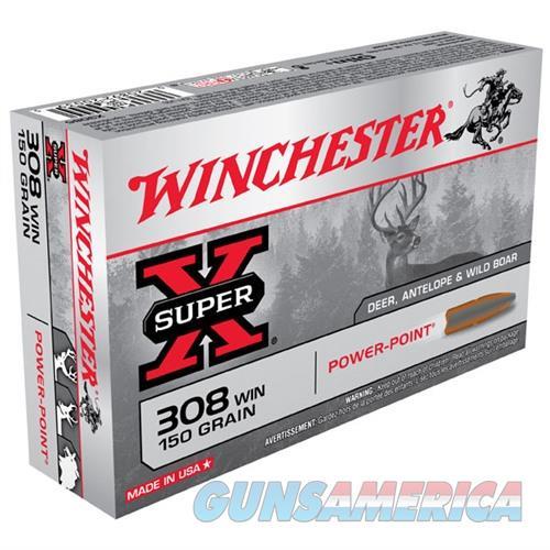 Winchester Ammo 308 Winchester Super-X 150gr PP  Non-Guns > Ammunition