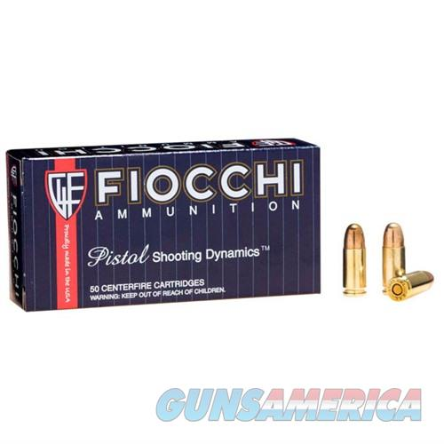 Fiocchi Shooting Dynamics 9mm 158gr FMJ-Subsonic 50/bx  Non-Guns > AirSoft > Ammo