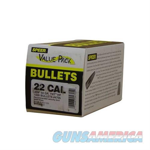Speer Bullet 50-HP Value Pack  Non-Guns > Reloading > Components > Bullets