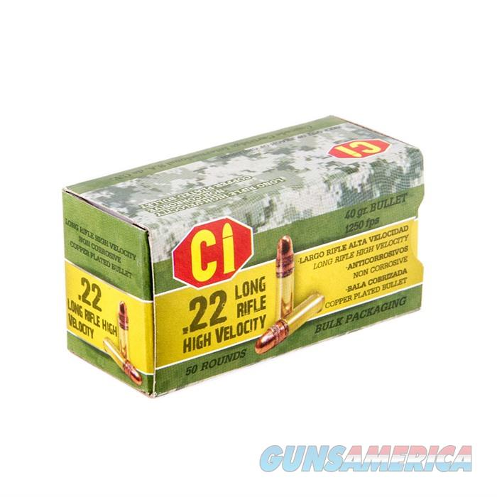 CI Ammo Green Ammo 22LR 40gr 50rds/Box 100Box/Case  Non-Guns > Ammunition