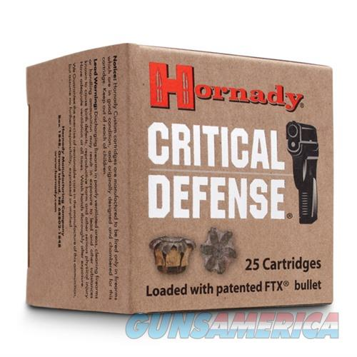 Hornady Critical Defense 32 NAA 80gr FTX 25/bx  Non-Guns > Ammunition