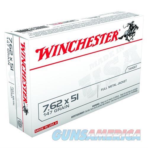 Winchester ammo 7.62x51mm 147gr FMJ  Non-Guns > Ammunition