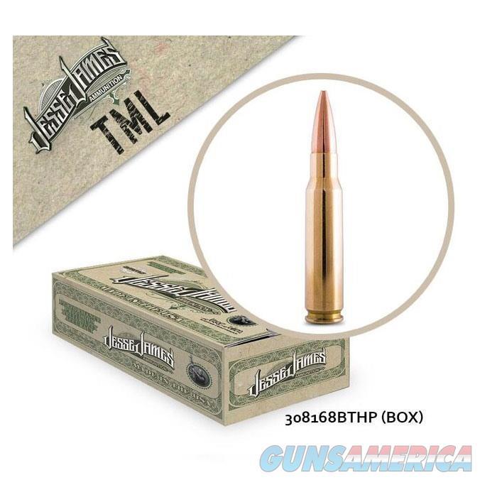 Jesse James TML 308Win 168gr BTHP 20bx  Non-Guns > Ammunition