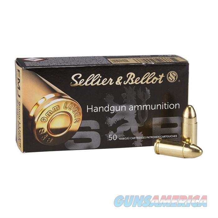 Sellier & Bellot 9mm Luger/9mm Para 115gr FMJ 50/bx  Non-Guns > Ammunition