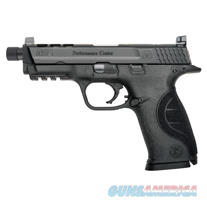 S&W M&P 9mm Ported Threaded 4 1/4'' Bbl 17Rd  Guns > Pistols > Smith & Wesson Pistols - Autos > Polymer Frame