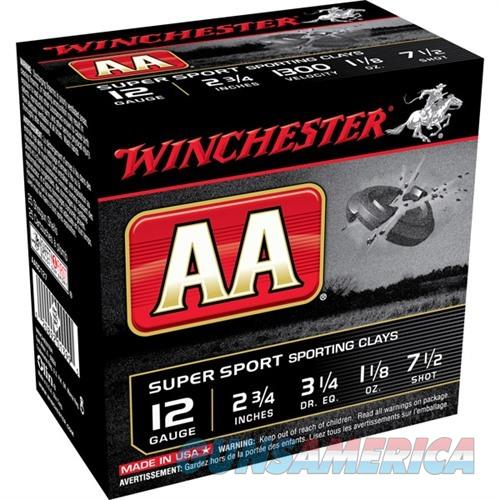 Winchester Shells 12ga S.C. 1-1/8oz #7.5 1300FPS  Non-Guns > Ammunition