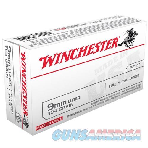 Winchester Ammo USA 9MM 124gr FMJ  Non-Guns > Ammunition