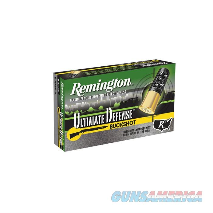 Rem Ammo 20711 12Ga SS00 Bk 2-3/4'' 1200 8 PELOZ Home Defense  Non-Guns > Ammunition