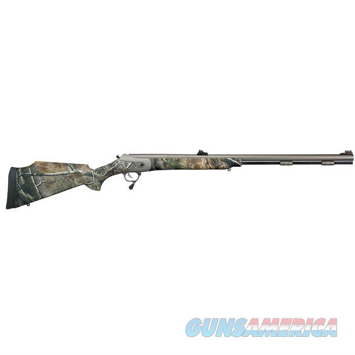 T/C Triumph .50 Cal. Weathershield/Ap Camo  Guns > Rifles > Thompson Center Muzzleloaders > Inline Style