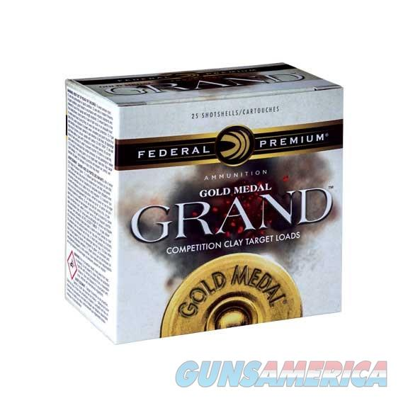 Federal Gold Medal Paper 12Ga 2-3/4''  2-3/4De 1-1/8Oz 7.5 25/Bx  Non-Guns > Ammunition