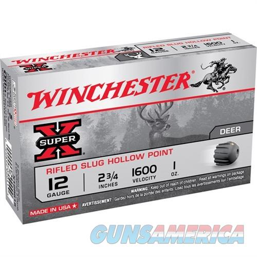 WINCHESTER AMMO 12 GAUGE 2 3/4IN 1OZ SX RIFLED SLUG 1 (15 ROUNDS  Non-Guns > AirSoft > Ammo