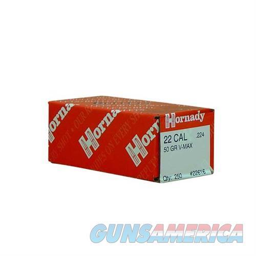 Hornady 22 CAL .224 50 GR V-MAX (250)  Non-Guns > Reloading > Components > Bullets