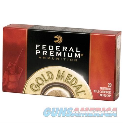 Federal Gold Medal 30-06 168gr Matchking BTHP 20/bx  Non-Guns > Ammunition