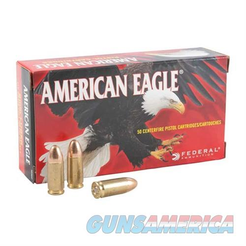 Federal American Eagle 9mm 115gr FMJ 50/bx  Non-Guns > Ammunition