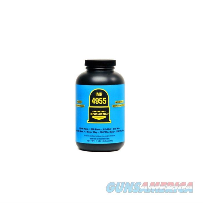 IMR Powder 4955 1lb Bottle  Non-Guns > Reloading > Components > Other