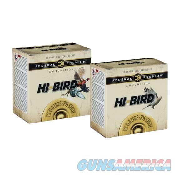 Federal Hi-Bird 12Ga 2 3/4''  Max 1 1/4Oz 4 25/Bx  Non-Guns > Ammunition