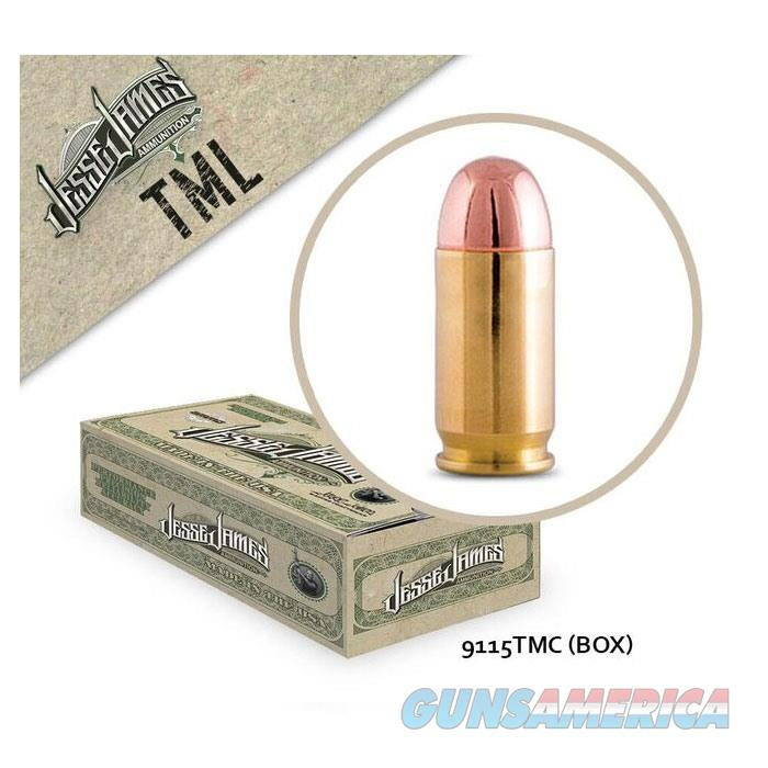 Jesse James TML 9mm 115 gr TM 50bx  Non-Guns > Ammunition