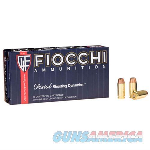 Fiocchi Shooting Dynamics 40 S&W 165gr JHP 50/bx  Non-Guns > Ammunition