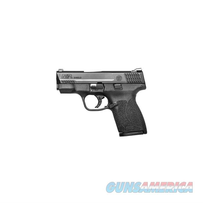 S&W M&P45 Shield No Thumb Safety .45ACP 3.3'' Barrel 6+1Rd Mag  Guns > Pistols > Smith & Wesson Pistols - Autos > Shield