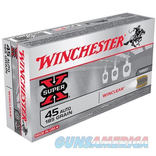 Winchester Winclean 45 ACP 185gr 50/bx  Non-Guns > Ammunition