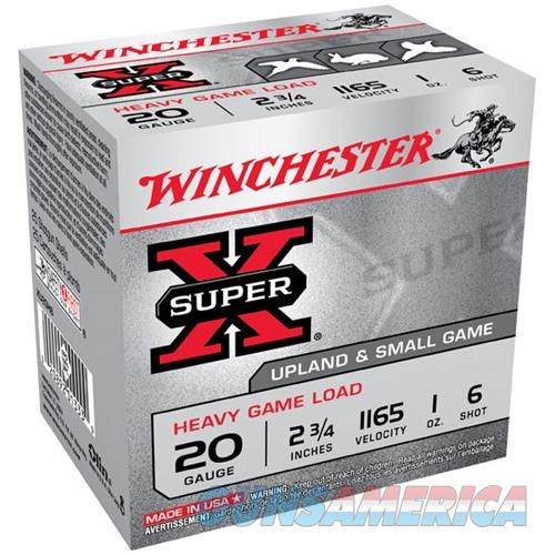 Winchester Super-X Heavy Game Load 20ga 2.75'' 1oz. #6 25/bx  Non-Guns > AirSoft > Ammo