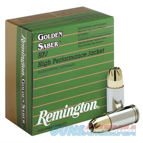 Remington Premier Golden Saber 45 ACP +P 185gr BJHP 25/bx  Non-Guns > Ammunition