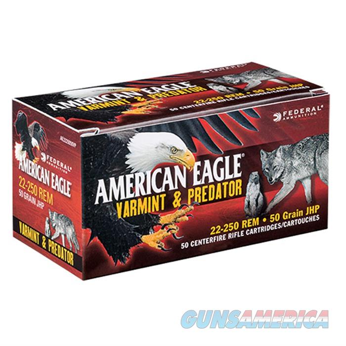 American Eagle 22-250 50gr JHP V&P 50bx  Non-Guns > Ammunition