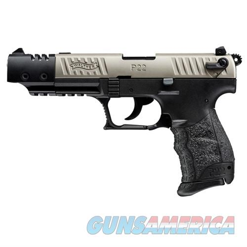 Walther P22 CA Compliant Nickel 22LR 5''  10rd  Guns > Pistols > Walther Pistols > Post WWII > P22