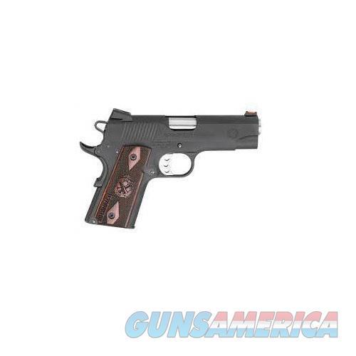 Springfield  LW RANGE OFFICER 4''Bbl 9Mm 8 Rd Black  Guns > Pistols > A Misc Pistols