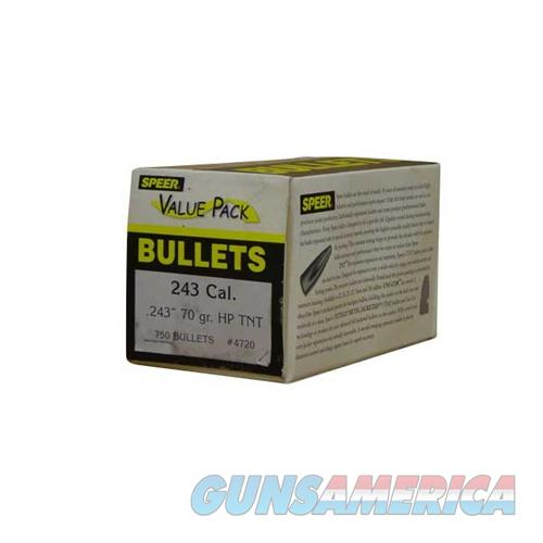 Speer Bullet 70HP-TNT Value Pack  Non-Guns > Reloading > Components > Bullets