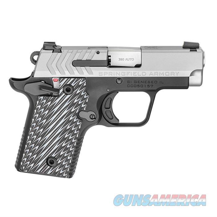 .380 ACP Stainless (W/ 2 Magazines)  Guns > Pistols > Springfield Armory Pistols > 1911 Type