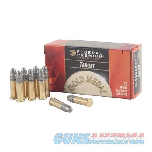 Federal Ammo 22 Long Rifle Target (GM)  Non-Guns > Ammunition