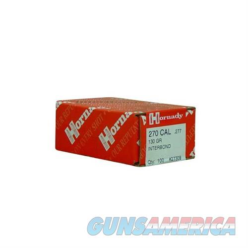 Hornady 270 CAL .277 130 GR IB  Non-Guns > Reloading > Components > Bullets