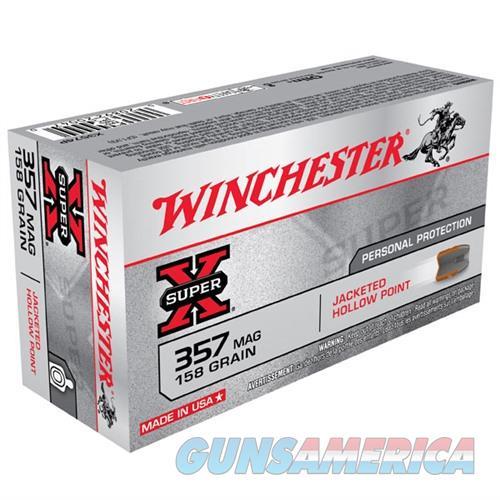 Winchester Ammo 357 Mag Super-X 158gr JHP  Non-Guns > Ammunition