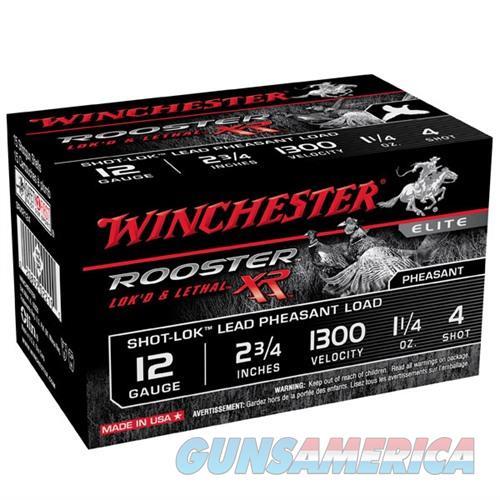 Winchester Rooster XR 12ga 2.75'' 1-1/4oz #4 10/bx  Non-Guns > Ammunition