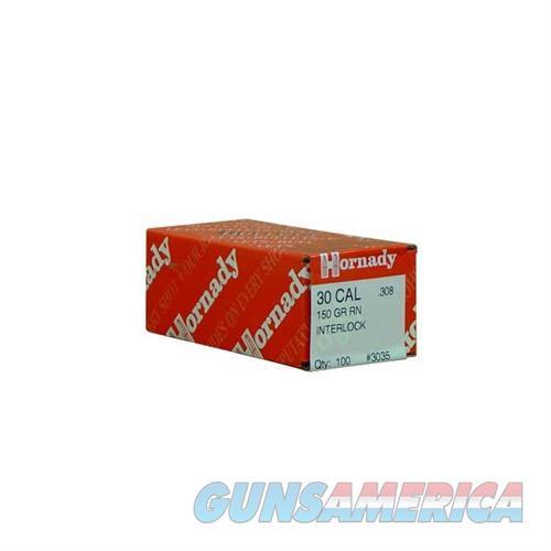 Hornady 30 CAL .308 150 GR RN  Non-Guns > Reloading > Components > Bullets