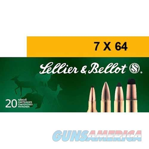 Sellier & Bellot 7x64 173 Gr SPCE 20/bx  Non-Guns > Ammunition