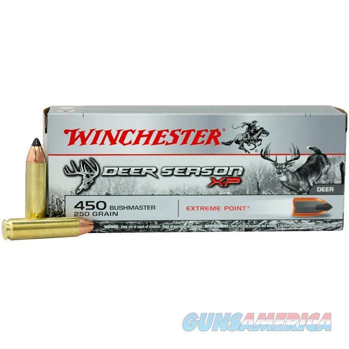 Winchester Deer Season XP? 450 Bushmaster  250 gr 20 bx  Non-Guns > Ammunition