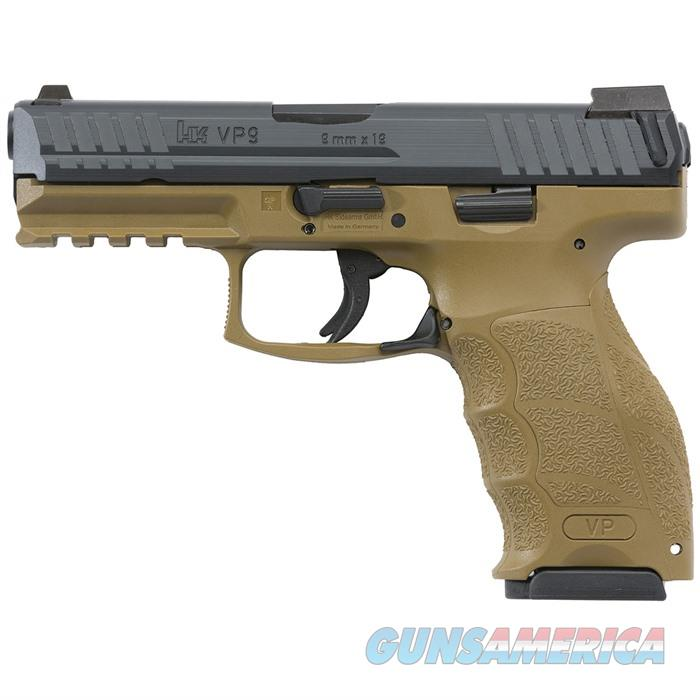 H&K VP9 FDE Semi Auto 9mm 2-10rd Mags  Guns > Pistols > A Misc Pistols