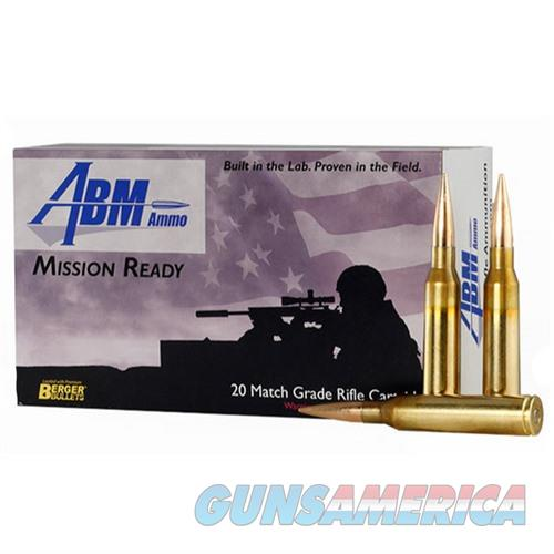 ABM Mission Ready 338 Lapua Mag 300gr Berger Match Hybrid OTM  Non-Guns > AirSoft > Ammo