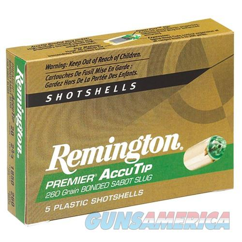 Remington Accutip Sabot Slug 20ga 2.75'' 260gr 5/bx  Non-Guns > Ammunition
