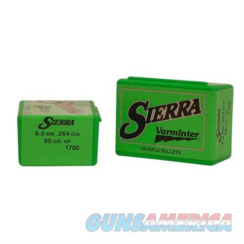 Sierra Bullet 6.5MM .264 85gr HP  Non-Guns > Reloading > Components > Bullets