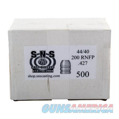 SNS CAST BULLET 44-40 .427 200GR RNFP  Non-Guns > Reloading > Components > Bullets